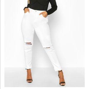 Boohoo.com mom jeans